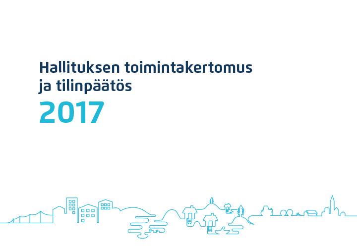 Suur-Savon Sähkö – Hallituksen toimintakertomus ja tilinpäätös 2017